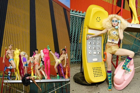 David LaChapelle per Happy Socks