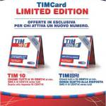 Tim Card Limited Edition, tariffe tim, passare a tim