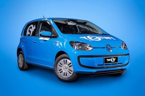 Volkswagen Up di Twist Milano