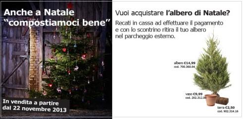 Albero di Natale IKEA
