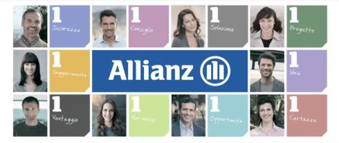 Allianz Uno nello spot TV