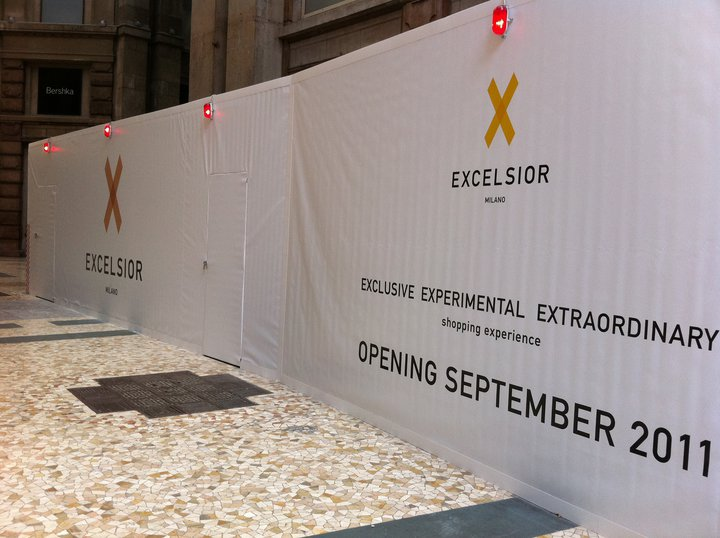 Apertura Excelsior Milano, inaugurazione settembre 2011