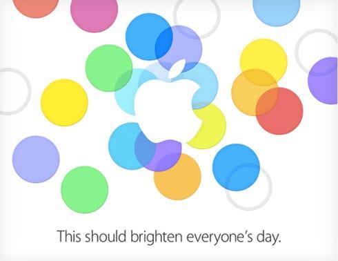 Evento Apple 10 Settembre 2013
