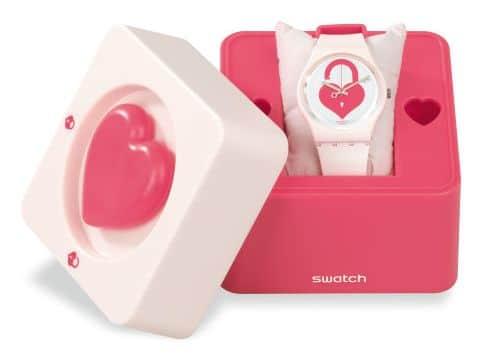 Astuccio orologio Swatch Unlock my Heart