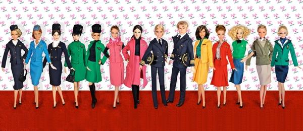 Barbie loves Alitalia - Barbie likes Alitalia