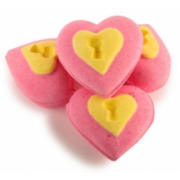 Bombe da bagno Lush Love Locket a forma di cuore