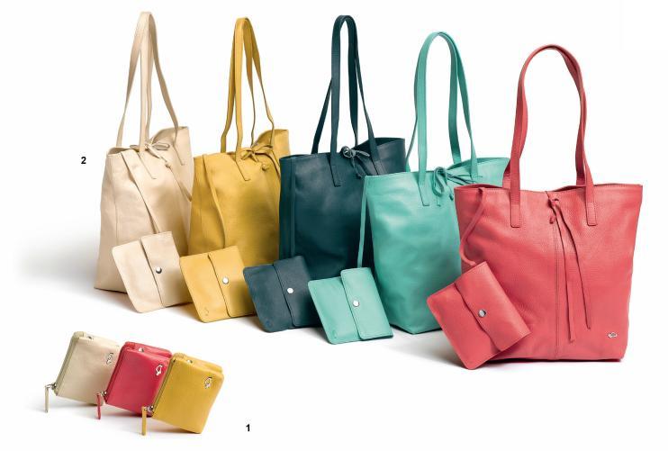 Carpisa: borsa in pelle (prezzo 69,90€) e portamonete (15,90€) Primavera 2012