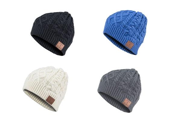 Cappello bluetooth con auricolari
