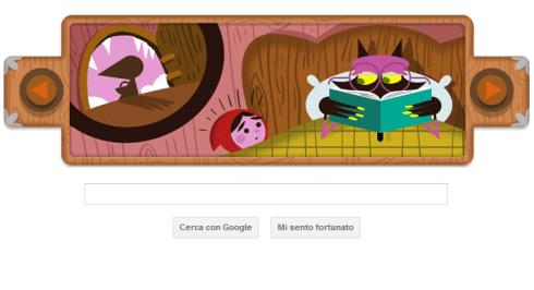 Cappuccetto Rosso, Fratelli Grimm Google