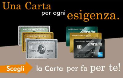 Carte di credito American Express Italia