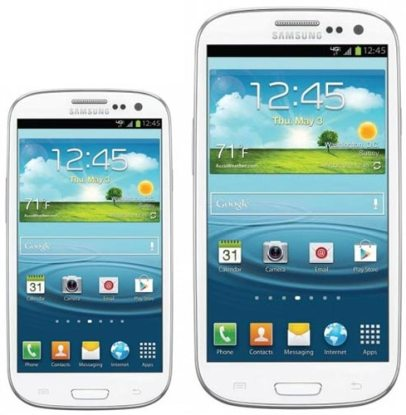 Confronto Samsung Galaxy S3 mini