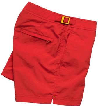 Costume uomo Orlebar Brown Setter rosso