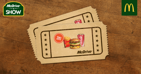 Coupon McDrive McDonald's Italia 2015