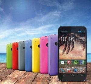 Cover colorate offerta Vodafone Smart