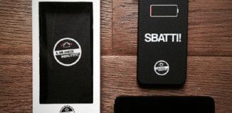 Cover Sbatti per iPhone del Milanese Imbruttito