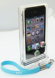 TAT7 custodia subacquea iPhone 4 e 4S