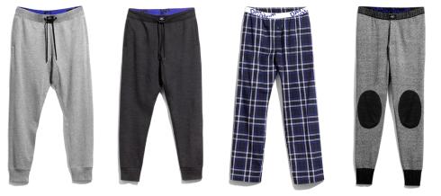 Pantaloni David Beckham HM