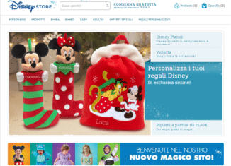 Sito Disney Store Online