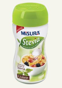 Dolcificante Misura Stevia in polvere