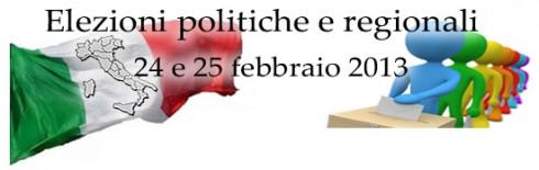 Elezioni politiche e regionali 2013