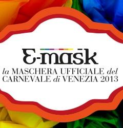 emask maschera ufficiale Carnevale di Venezia 2013