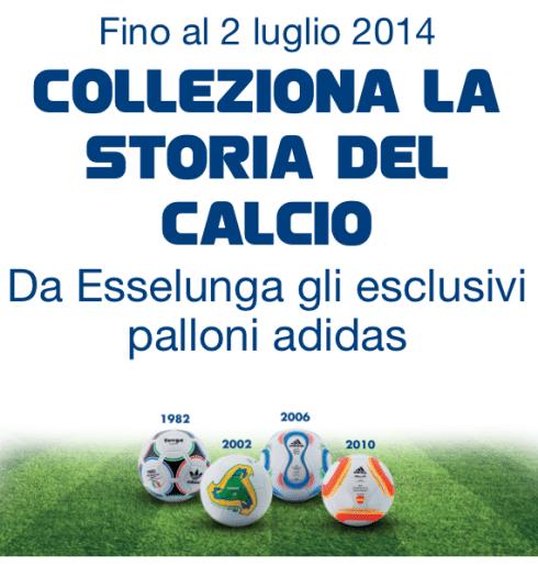 Palloni Adidas Esselunga 2014