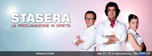 Finale MasterChef Italia in diretta tv