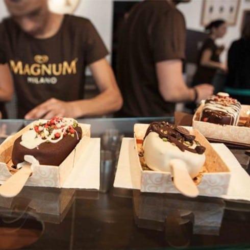 Gelati My Magnum personalizzati a Milano