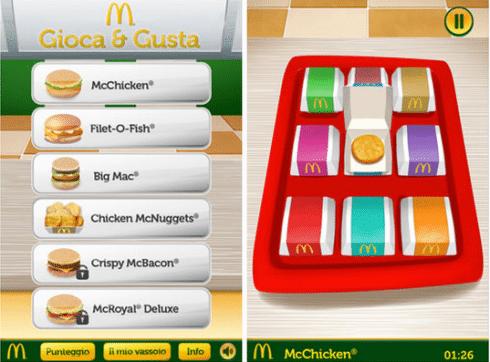 Gioca & Gusta McDonald's