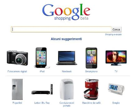 Google Shopping, compara prezzi on line
