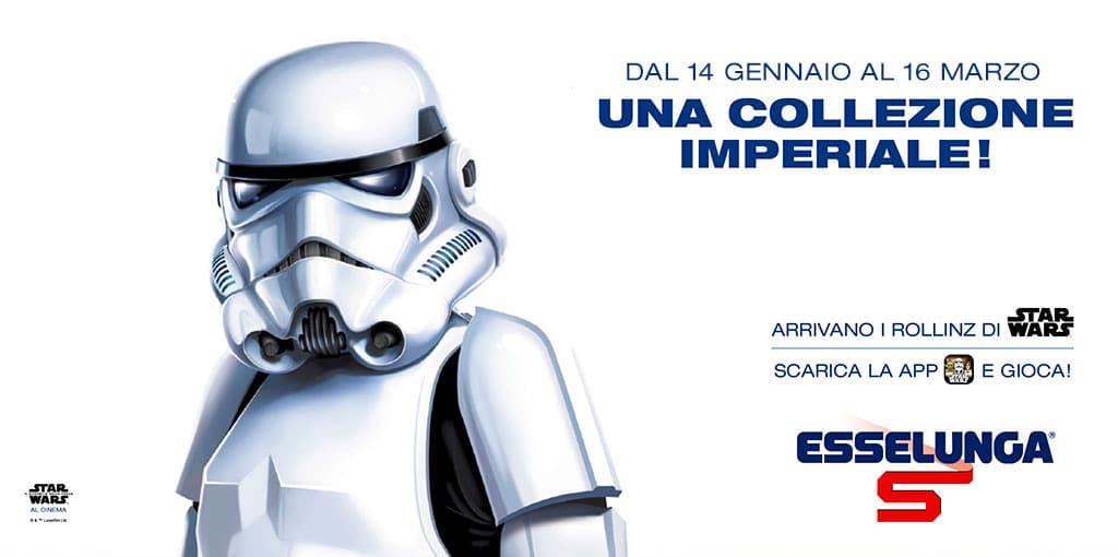 Guardia imperiale collezione Esselunga Star Wars