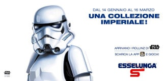 Guardia imperiale collezione Esselunga Star Wars