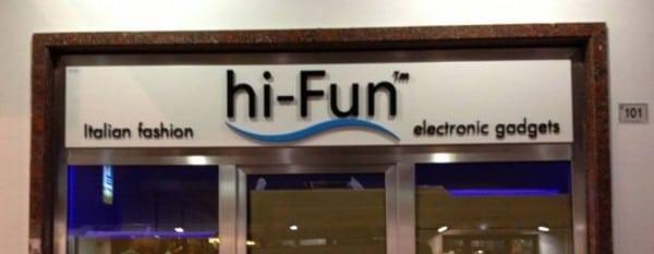 Negozio hi-Fun Riccione