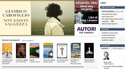 Screenshot iBook Store Apple