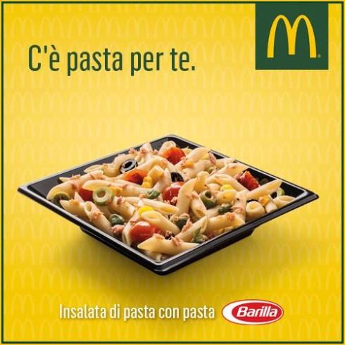 Insalata di pasta Barilla McDonald's Italia