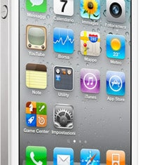 iPhone 4 bianco, Apple iPhone bianco
