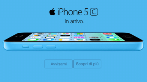 iPhone 5C Vodafone Avvisami