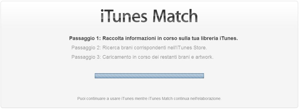 Come attivare iTunes Match