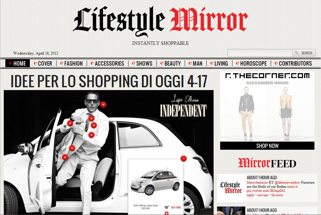 Lifestyle Mirror, magazine online