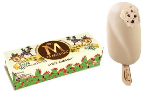 Gelato Magnum Dolce Gabbana