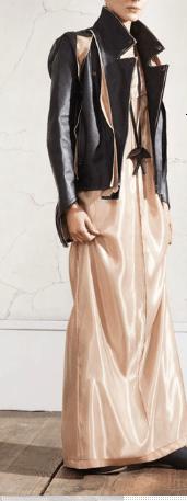 Margiela HM donna: abito e giacca in pelle