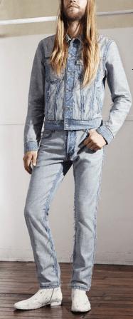 Margiela HM uomo: pantaloni e giubbotto jeans