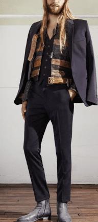 Margiela H&M uomo: giacca e pantaloni