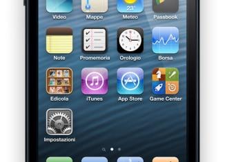 Nuovo iPhone 5 nero