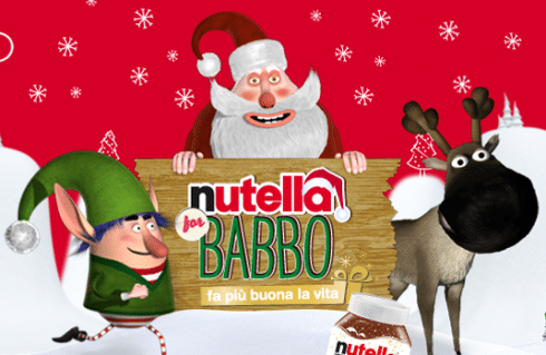Nutella for Babbo Natale