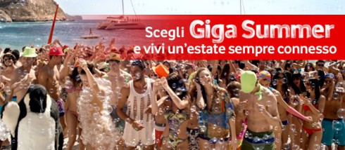Offerta Vodafone Giga Summer 2014