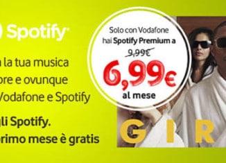 Offerta Vodafone Spotify Premium