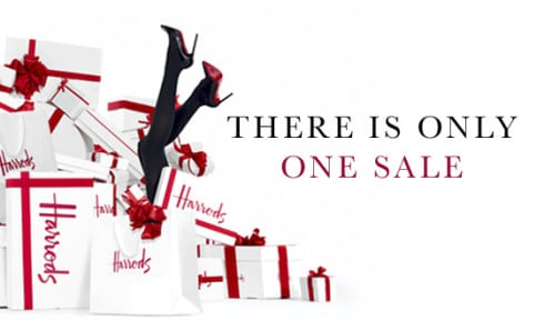 There is only one sale, Harrods