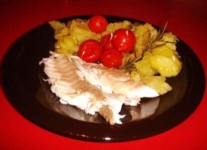 Foto orata forno con patate