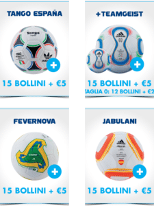 Palloni Adidas Esselunga Mondiali 2014